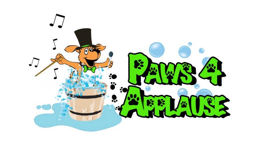 Konkurrenceindlæg #112 for Logo Design for Paws 4 Applause Dog Grooming