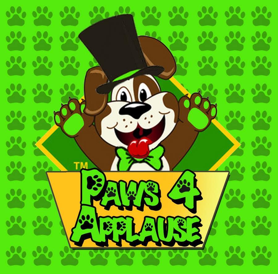 Penyertaan Peraduan #                                        108                                      untuk                                         Logo Design for Paws 4 Applause Dog Grooming