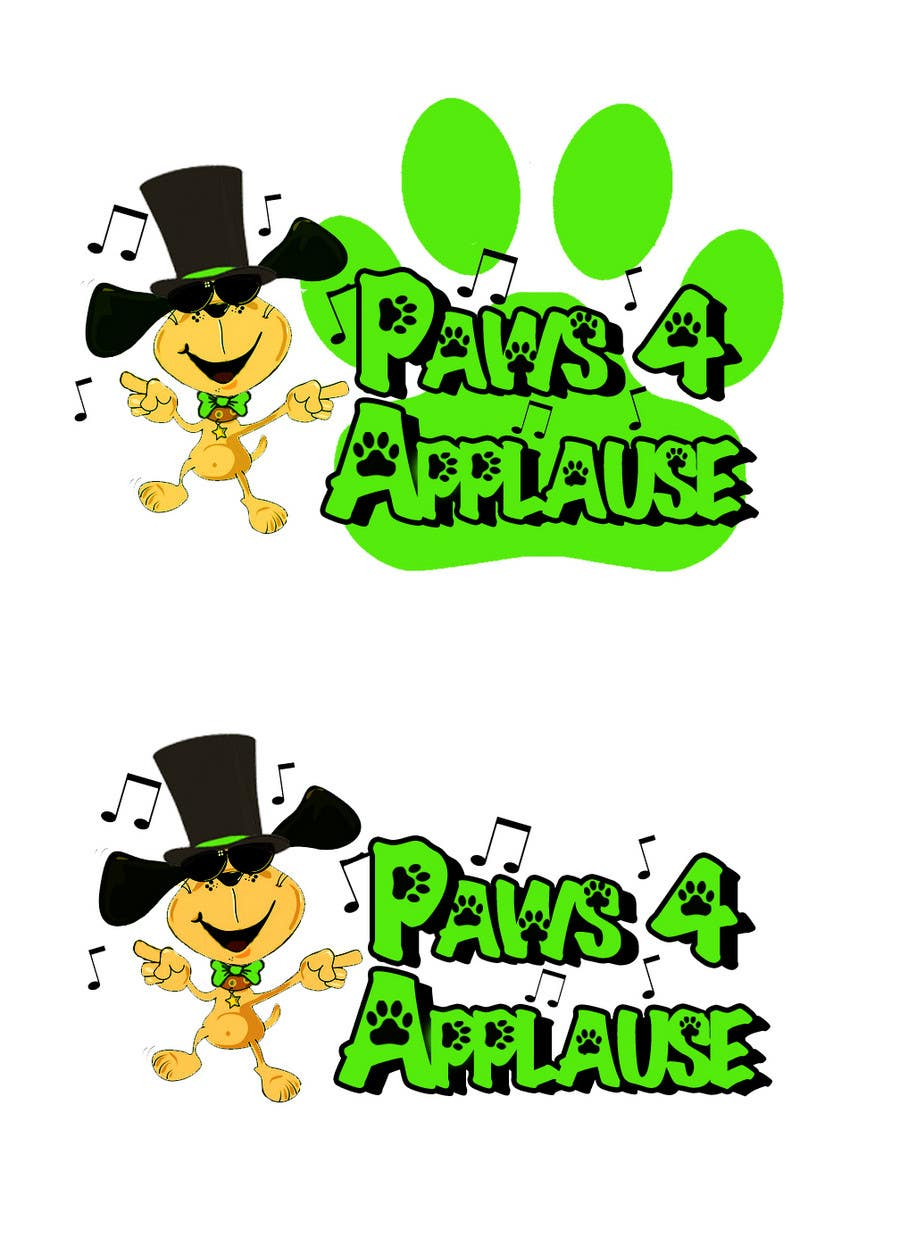 Konkurrenceindlæg #104 for Logo Design for Paws 4 Applause Dog Grooming