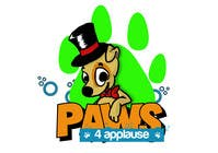 Graphic Design Contest Entry #50 for Logo Design for Paws 4 Applause Dog Grooming