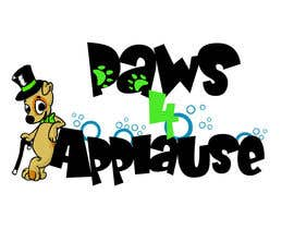 #110 untuk Logo Design for Paws 4 Applause Dog Grooming oleh Galhardo