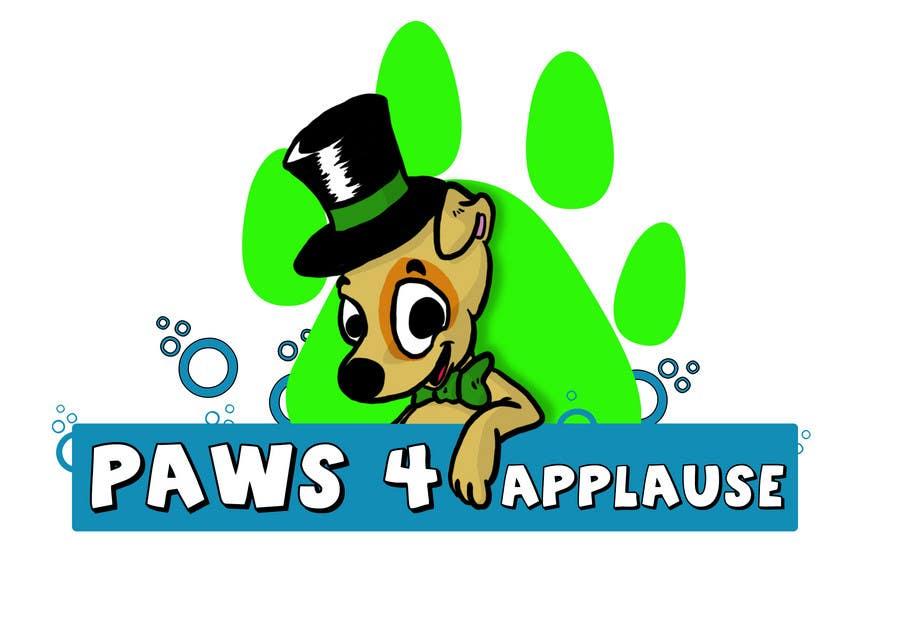 Penyertaan Peraduan #                                        53                                      untuk                                         Logo Design for Paws 4 Applause Dog Grooming