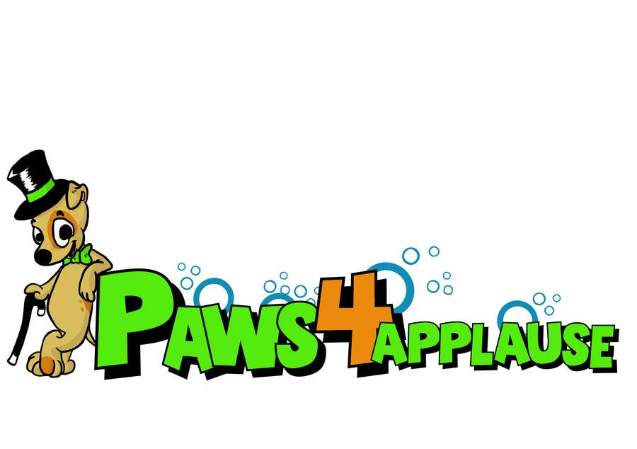 Contest Entry #58 for Logo Design for Paws 4 Applause Dog Grooming