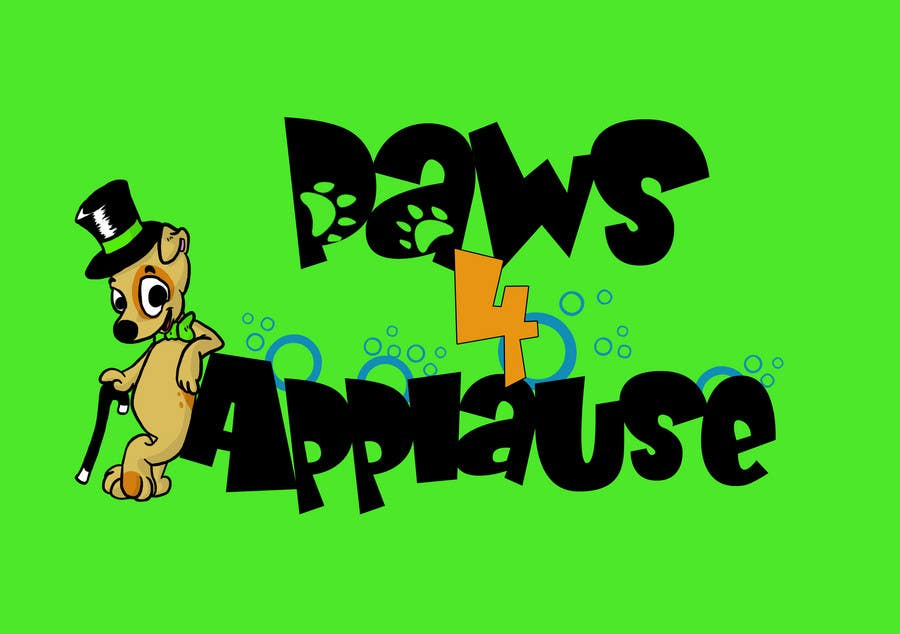 Konkurrenceindlæg #111 for Logo Design for Paws 4 Applause Dog Grooming