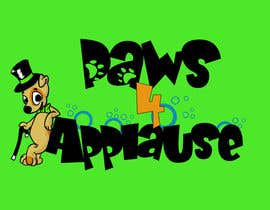 #111 untuk Logo Design for Paws 4 Applause Dog Grooming oleh Galhardo
