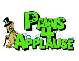 #86 para Logo Design for Paws 4 Applause Dog Grooming de Galhardo
