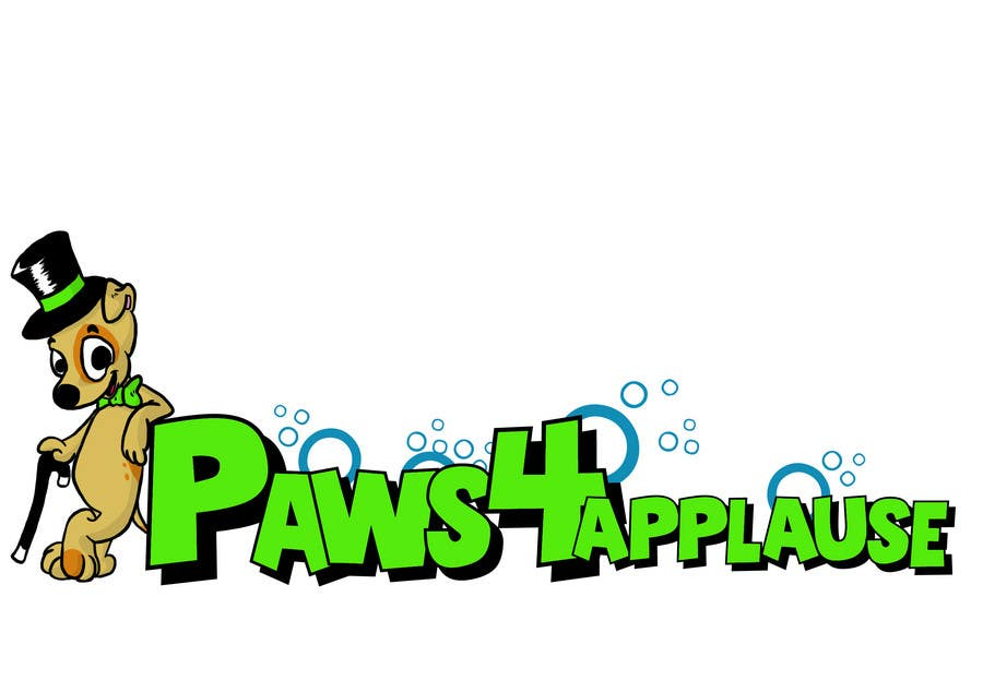 Contest Entry #57 for Logo Design for Paws 4 Applause Dog Grooming