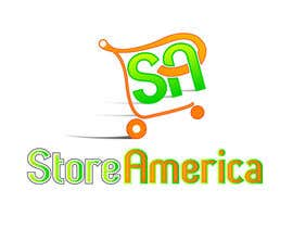 #75 para Design a Logo for store america por johnnytuch13
