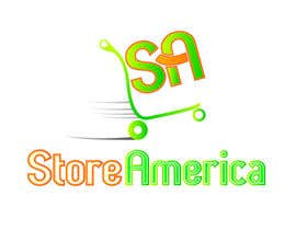 #76 para Design a Logo for store america por johnnytuch13