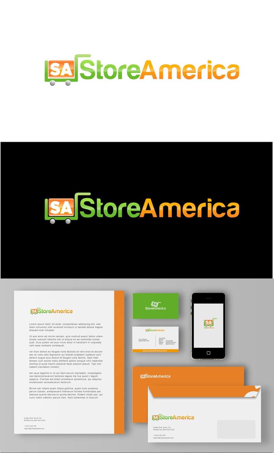 #73 for Design a Logo for store america by Djojosetjoko