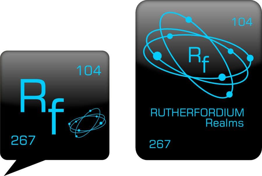 Konkurrenceindlæg #56 for Design a Logo for Rutherfordium Realms
