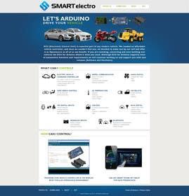 #9 for Design a Website Mockup electronics website by JosephNgo