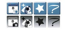 Contest Entry #7 for Design four Icons for a Photography Website