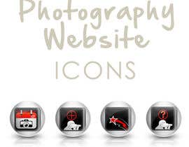 #10 untuk Design four Icons for a Photography Website oleh ronimccullum