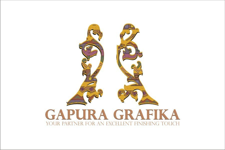 Proposition n°                                        365                                      du concours                                         Logo Design for Logo For Gapura Grafika - Printing Finishing Services Company - Upgraded to $690