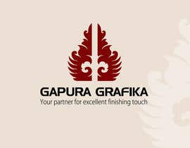#62 para Logo Design for Logo For Gapura Grafika - Printing Finishing Services Company - Upgraded to $690 de smarttaste