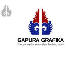 #216 untuk Logo Design for Logo For Gapura Grafika - Printing Finishing Services Company - Upgraded to $690 oleh smarttaste