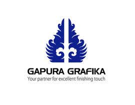 #109 untuk Logo Design for Logo For Gapura Grafika - Printing Finishing Services Company - Upgraded to $690 oleh smarttaste