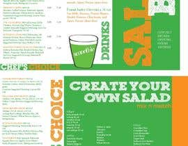 #3 for I need some Graphic Design for Salad bar Menu af Hannahrachael