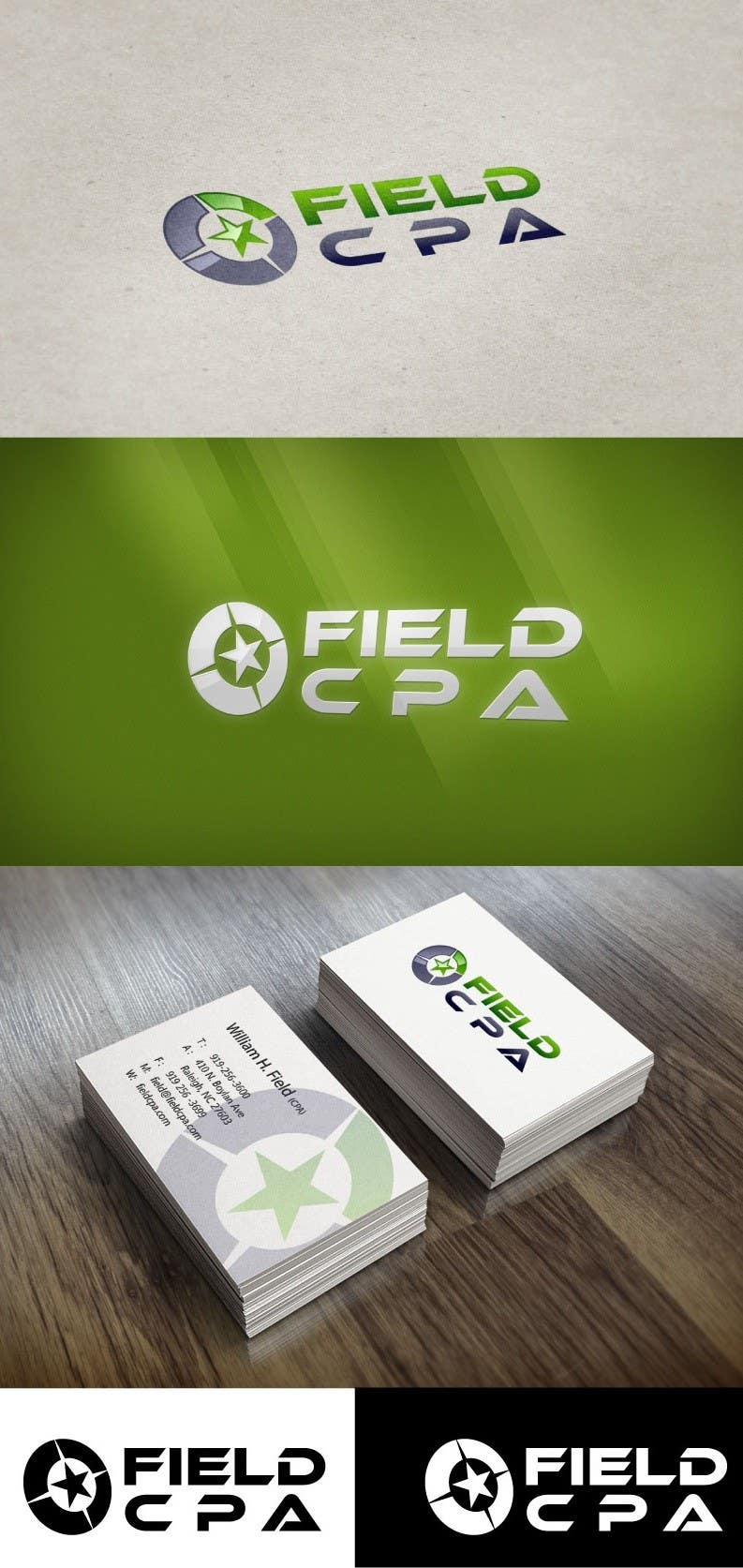#39 for Business Card Logo Design for FIELD CPA by sunnnyy