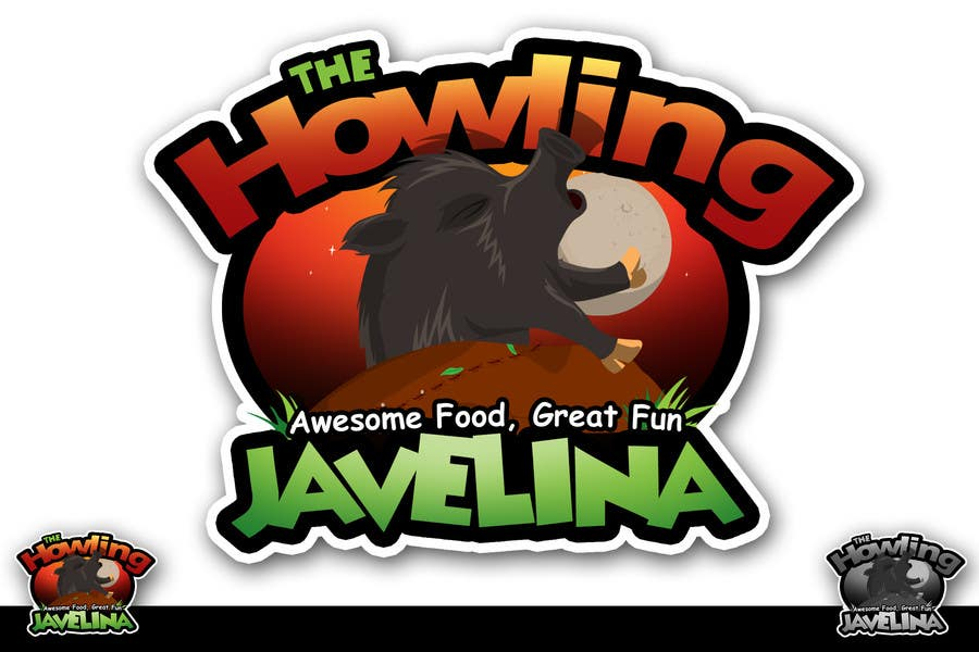 #53 for Design new logo for The Howling Javelina by rogeliobello