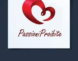 #39 para Logo design for PassioniProibite.com (Swingers and Dating Social Network) por basemamer