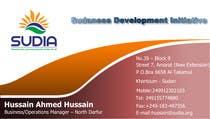 Graphic Design Contest Entry #92 for Business Card Design for SUDIA (Aka Sudanese Development Initiative)