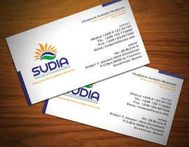 StrujacAlexandru tarafından Business Card Design for SUDIA (Aka Sudanese Development Initiative) için no 18