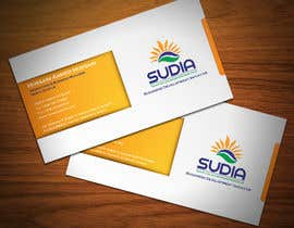 #90 for Business Card Design for SUDIA (Aka Sudanese Development Initiative) by StrujacAlexandru