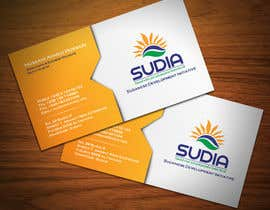 #67 for Business Card Design for SUDIA (Aka Sudanese Development Initiative) by StrujacAlexandru