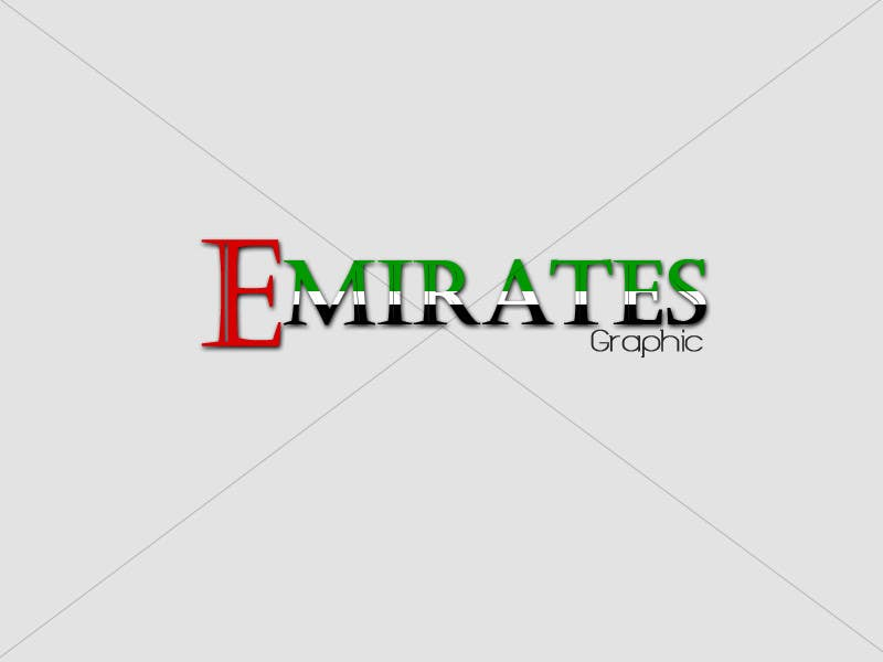 #2 for Design a Logo for my Company called EmiratesGraphic by Kamran83