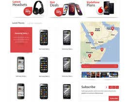 nº 79 pour Design a strongly branded Mobile Phone Content Website par SadunKodagoda