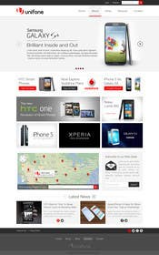 #84 for Design a strongly branded Mobile Phone Content Website by elshahat