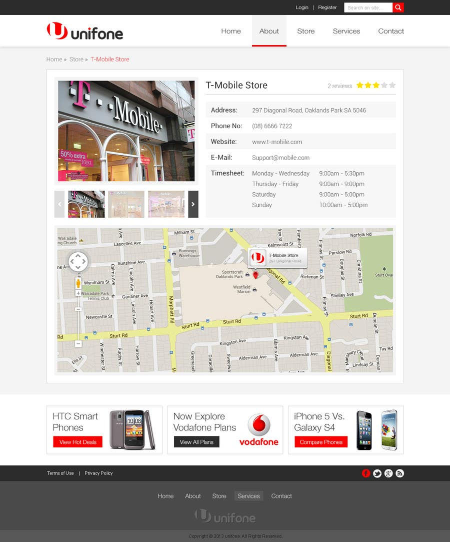 #87 for Design a strongly branded Mobile Phone Content Website by elshahat