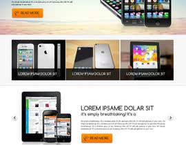 #92 para Design a strongly branded Mobile Phone Content Website por designgallery87
