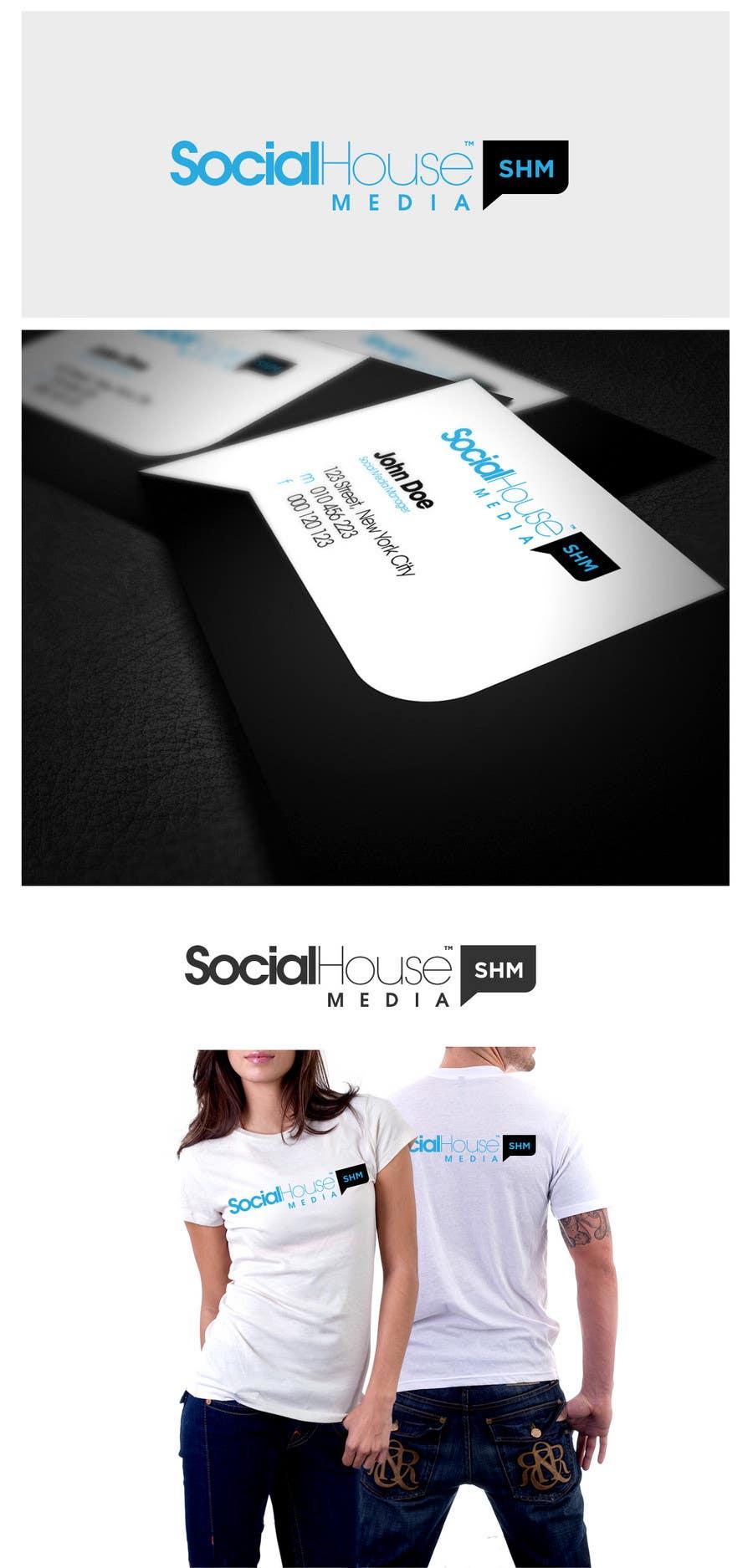 Penyertaan Peraduan #363 untuk Logo Design for Social House Media