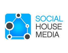 nº 455 pour Logo Design for Social House Media par bombingbastards