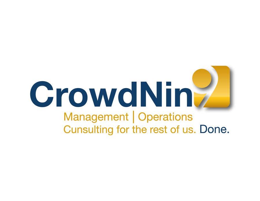 Inscrição nº                                         410                                      do Concurso para                                         Logo Design for CrowdNin9