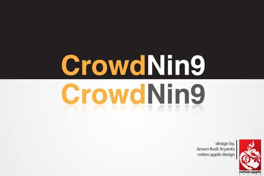 Inscrição nº                                         518                                      do Concurso para                                         Logo Design for CrowdNin9