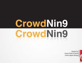 #518 para Logo Design for CrowdNin9 por redlinez