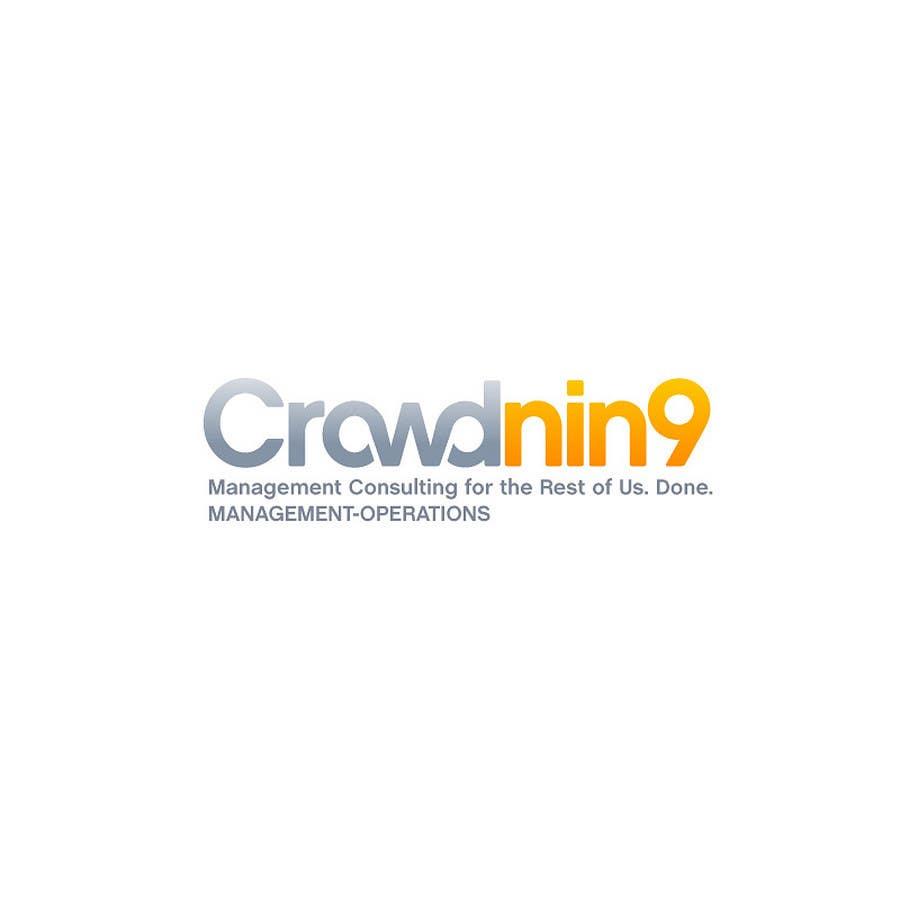 Inscrição nº                                         269                                      do Concurso para                                         Logo Design for CrowdNin9
