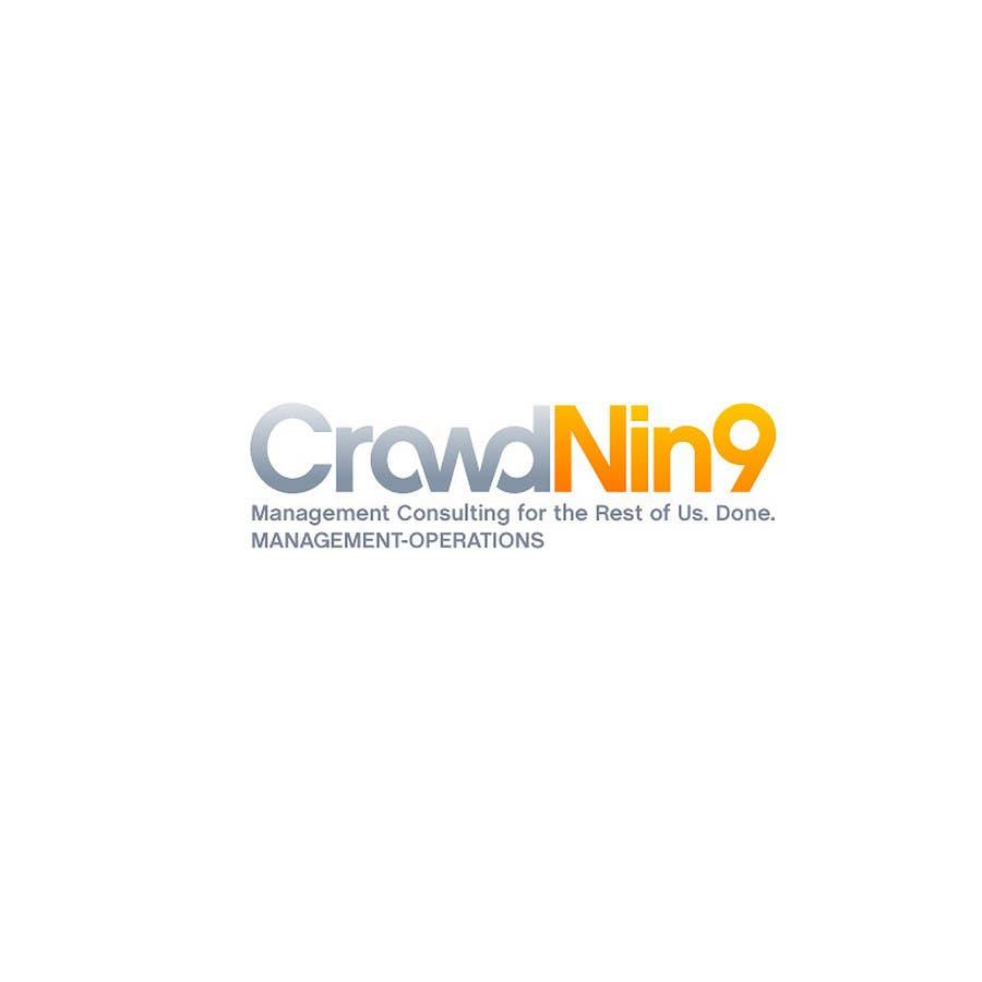 Inscrição nº                                         270                                      do Concurso para                                         Logo Design for CrowdNin9