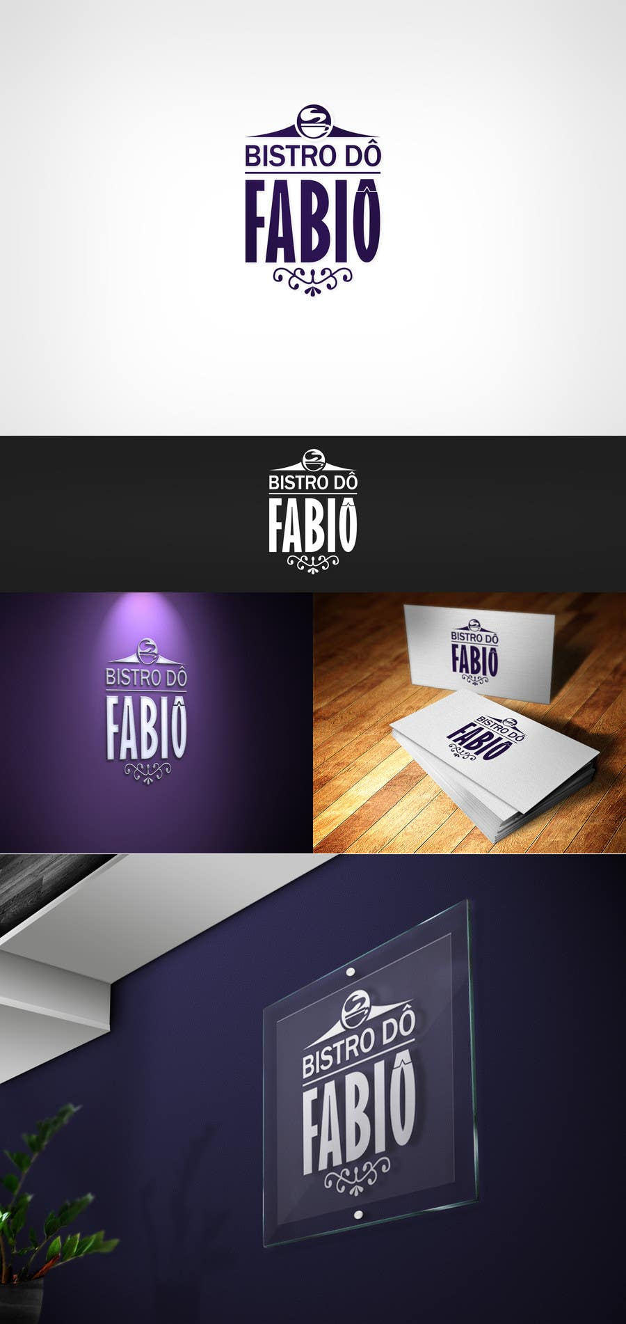 #7 for BistrÔ do FabiÔ Logo by palelod