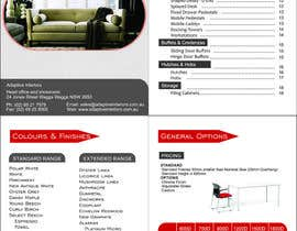 #7 for Design a Pricelist for Furniture af seefiworker007