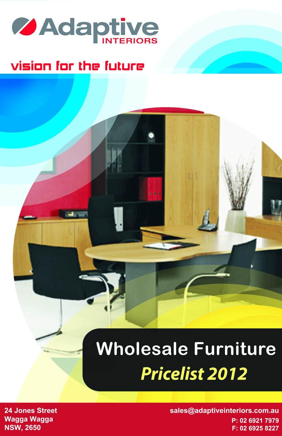Konkurrenceindlæg #2 for Design a Pricelist for Furniture
