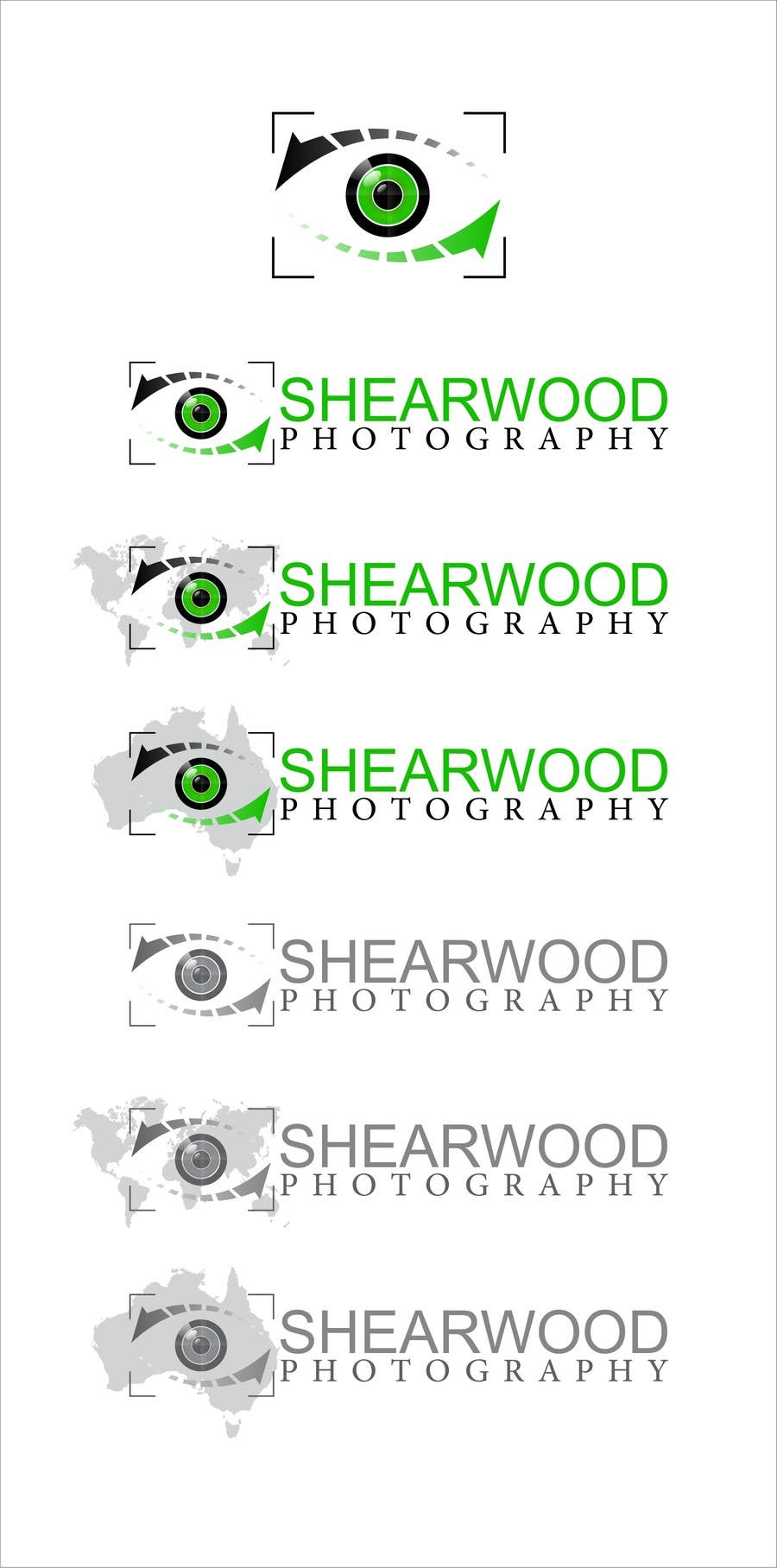 #159 for Design a Logo for Shearwood Photography by airbrusheskid