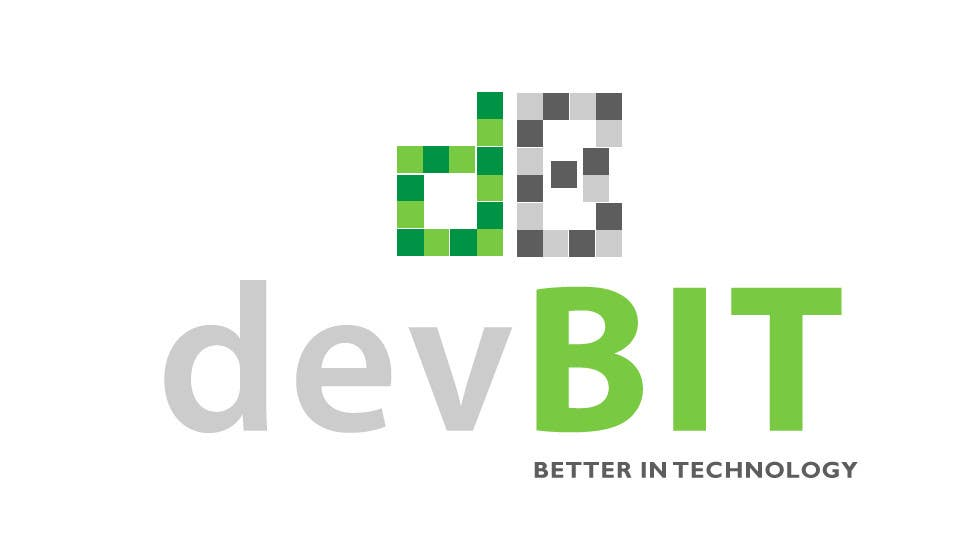#52 for Design a logo for devBIT by LucianCreative