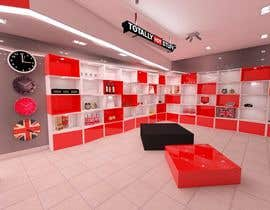 #12 cho 3D Interior Design For A Novelty Lifestyle & Gifts Retailer Shop bởi ilzedesaine1