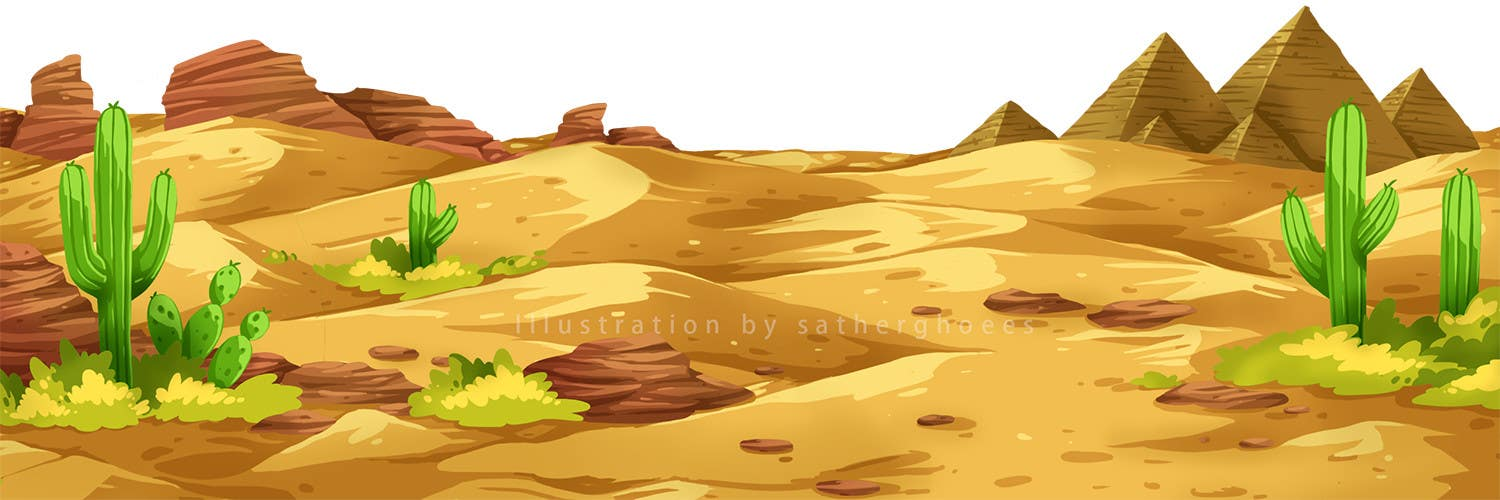 Entry 10 By Satherghoees1 For Cartoon Landscape Background Desert