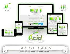 #50 para Develop a Corporate Identity for Acid Labs por ivanaantolovic